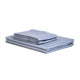 Valeron Crocodile Plain Sheet Set Blue Double