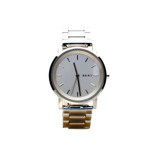 Dkny Stainless Steel Analog Watch With Metal Bracelet