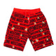 Moschino Red Shorts