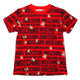 Moschino Red Cotton Logo T-Shirt