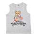 Moschino Grey Teddy Bear T-Shirt