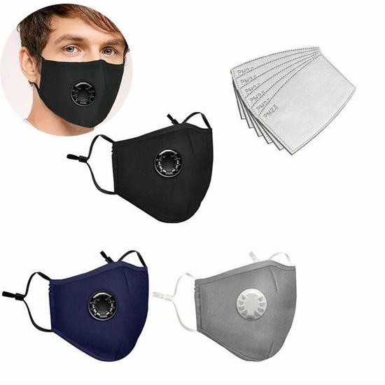4 - Washable and Re-usable face mask