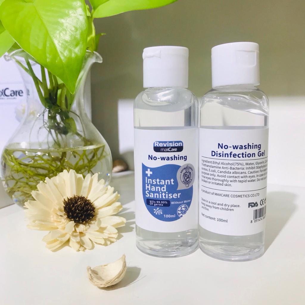 Hand sanitizers 100 ml and 300 ml