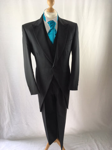 Hire Grey Herringbone Tail Suit