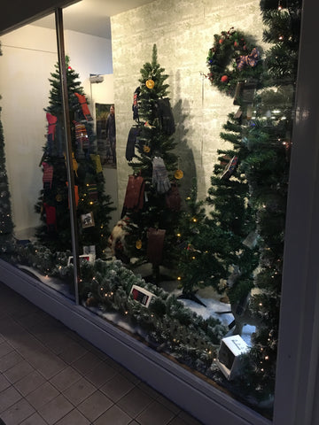Christmas Window at Samuel Daw & Co