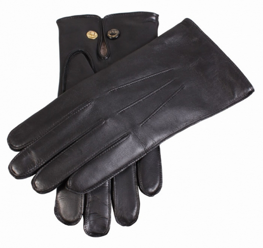 Dents Men's Wool Lined Hairsheep Leather Gloves