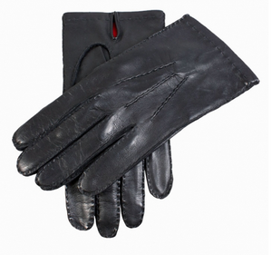 Dents Men's Handsewn Silk Lined Hairsheep Leather Gloves