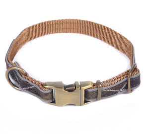 Barbour Classic Tartan Reflective Dog Collar