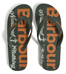 Barbour Nautical Beach Sandals
