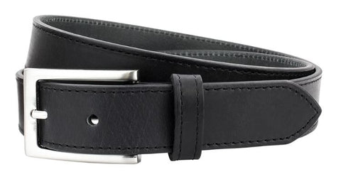 30mm Leather Block Edge Belt
