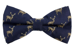 Animal Print Bow Tie