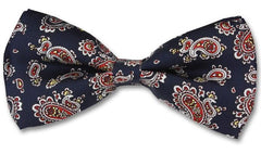 St George Paisley Bow Tie
