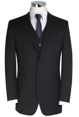 Scott by The Label Contemporary Black Suit