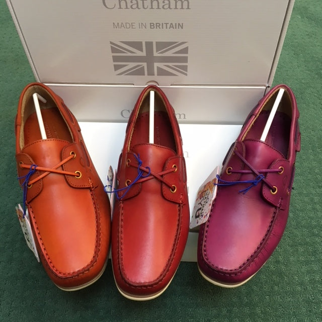 fe556d045c9222 Chatham Newton Coloured Boat Shoe – Samuel Daw   Co ltd