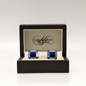 Cole Brothers Square Cufflinks