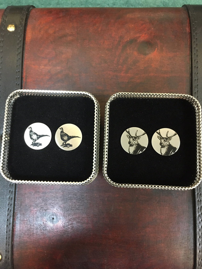 Retro Art Country Cufflinks