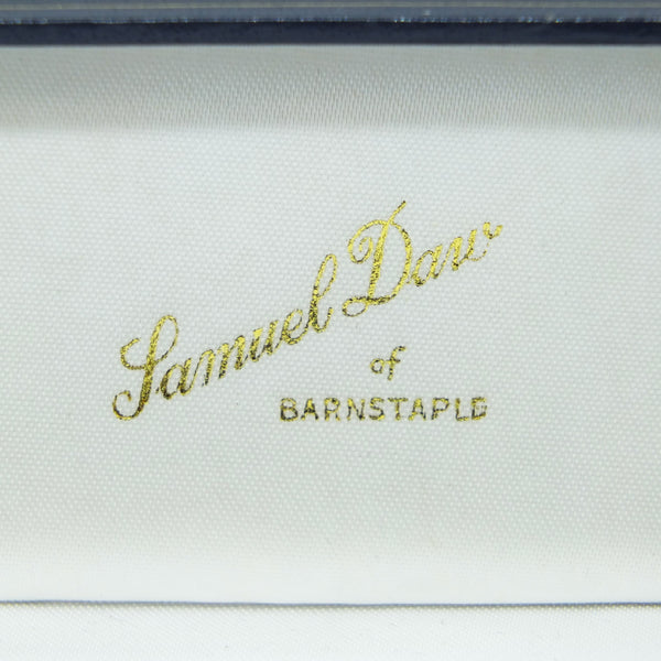 Samuel Daw & Co of Barnstaple print on cufflink box