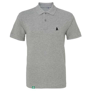 Daws Premium Polo Shirt in Heather Grey