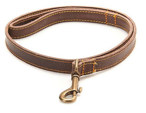 Barbour Dog Lead in Leather