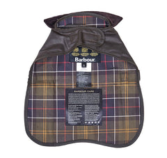 Barbour Waxed Dog Coat, Pattern