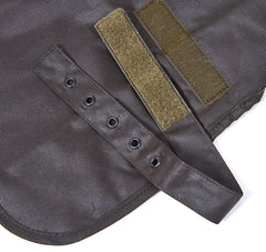 Barbour Waxed Dog Coat, Strap