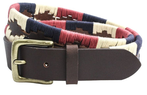 35mm Leather Guatamalen Style Belt