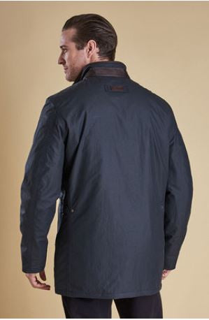 Barbour Hapsford Waterproof Jacket, Reverse