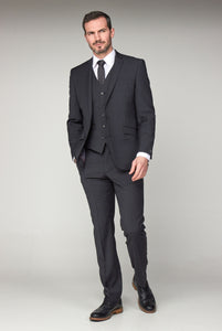Mix & Match Charcoal full three piece suit