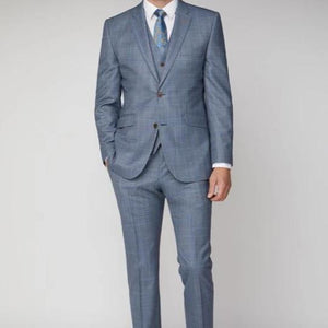 Mix & Match Light Blue Check Trouser