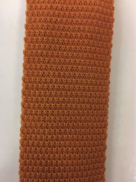 Plain Wool Knitted Tie