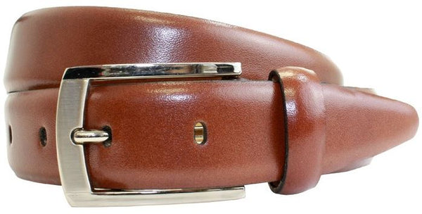 30mm Polished Leather Suit Belt