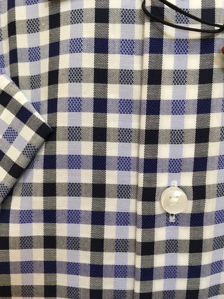 Seidensticker Blue & Black Check