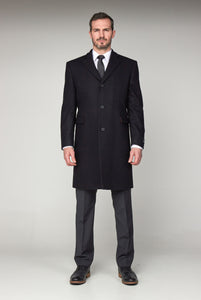 Scott by the Label Black Overcoat