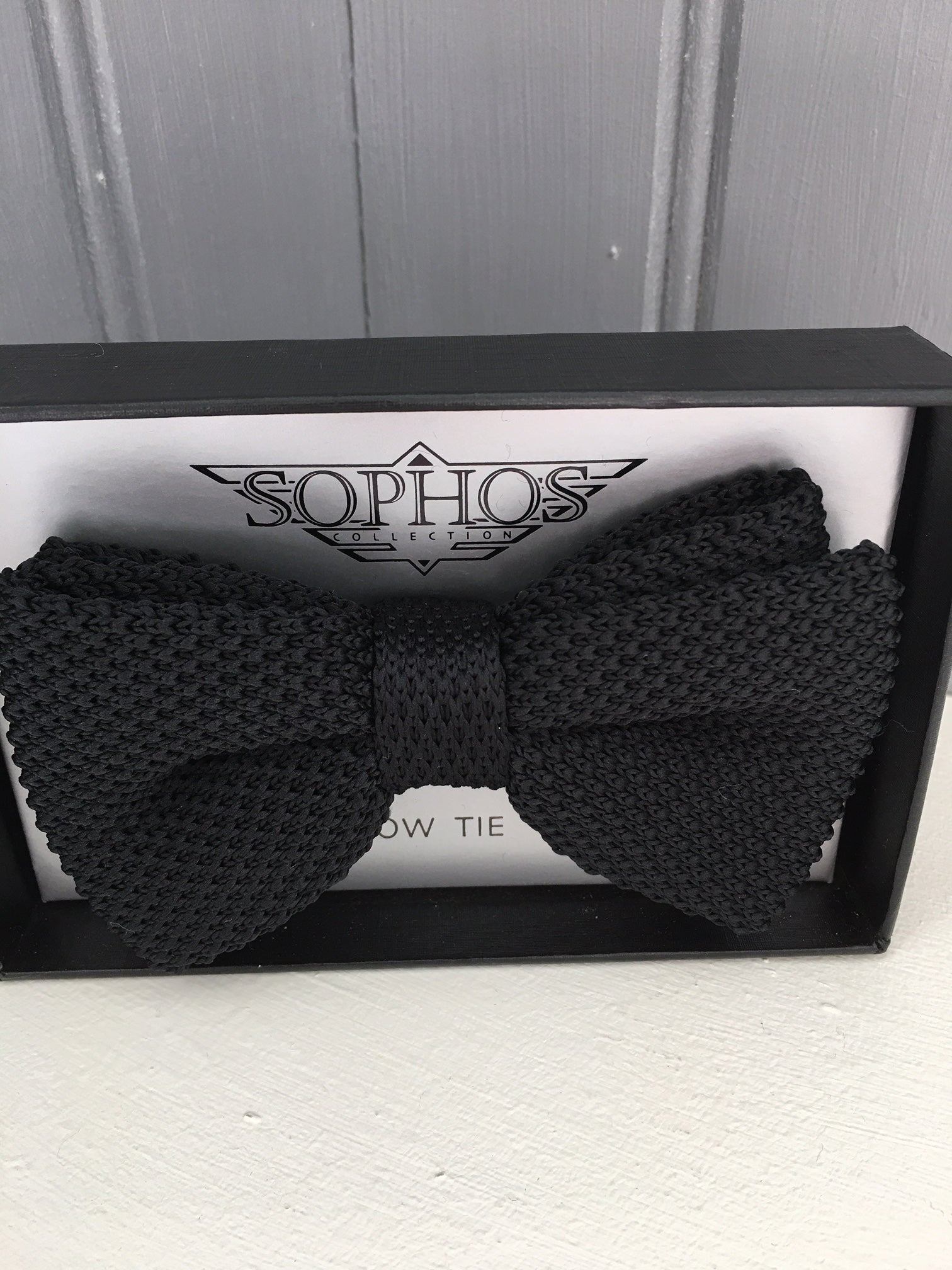 Knitted Ready Tied Bowtie