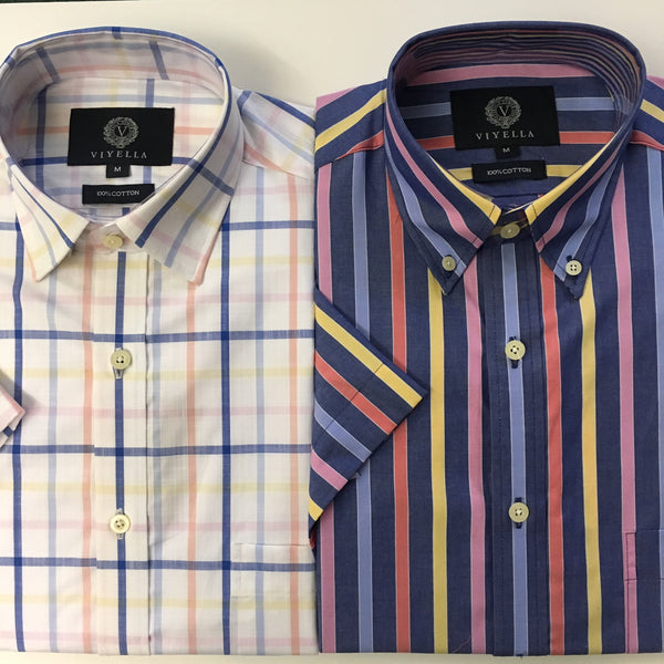 Viyella Short Sleeve Summer Shirt