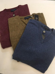 Viyella Lambswool V-Neck