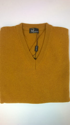 Massoti Lambswool V-Neck Sweater