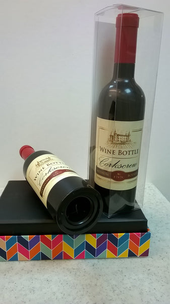 Novelty Wine Bottle Corkscrew