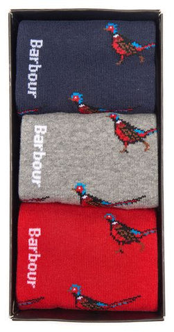 Barbour Pheasant Sock Gift Box Set