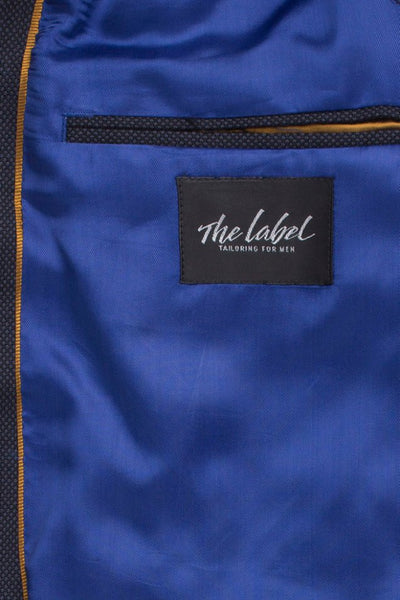 The Label Mix & Match Blue Birdseye Jacket