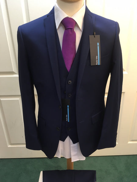 Antique Rogue Sapphire Two Piece Suit