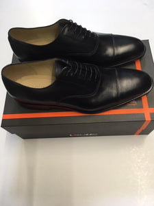 lacuzzo black leather oxford casual shoe