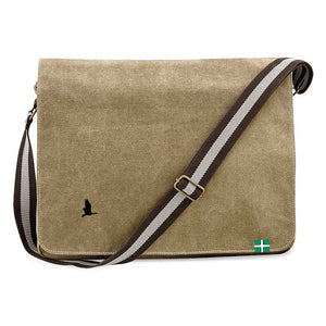 Daws Vintage Canvas Dispatch Bag in Sahara