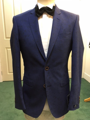 Magee Tailored Fit Patterned Jacket
