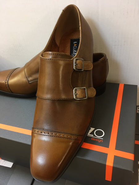 Lacuzzo Double Monk Strap Shoe
