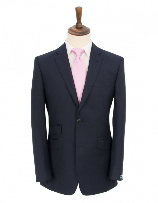 The Label Mix & Match Navy Sharkskin Jacket