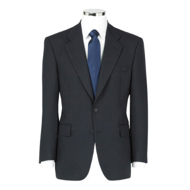 The Label Mix & Match Navy Herringbone Suit