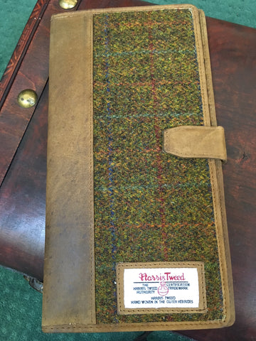 Harris Tweed Document Case