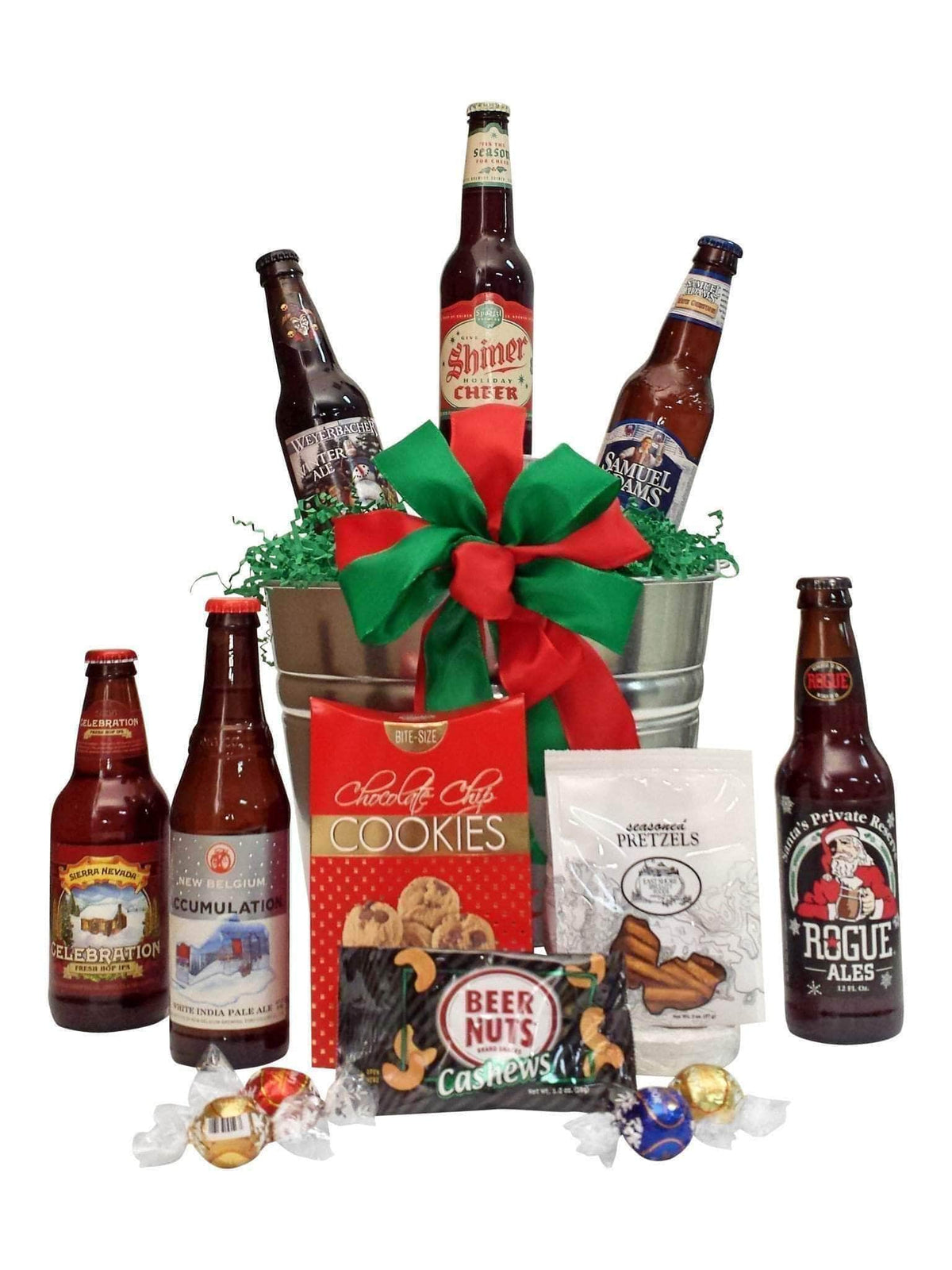 Holiday Beer Gift Baskets