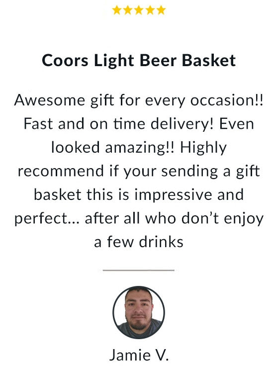 Coors Light Beer Basket